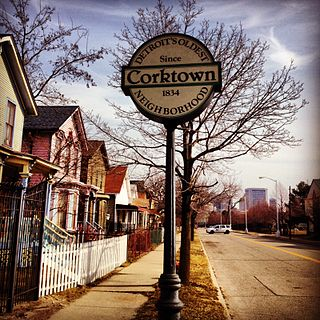 Corktown, Detroit human settlement in Detroit, Michigan, United States of America