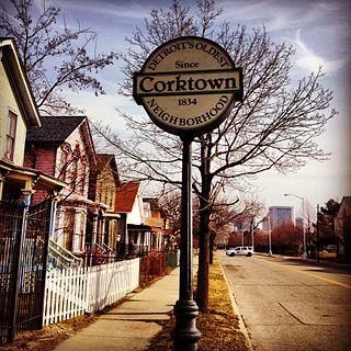 Corktown, Detroit United States historic place