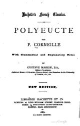 Corneille - Polyeucte, édition Masson, 1887.djvu