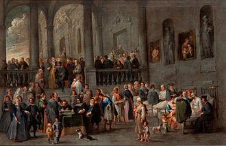 Cornelis de Wael - Visiting the sick