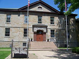 Cornwall, Ontario - Historic Cornwall Jail, now County Courthouse