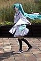 Cosplayer of Hatsune Miku at Animefest 20140510a.jpg