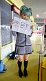 Cosplayer of Kaede Kayano, Assassination Classroom in PF22 20150509.jpg