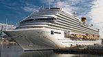 List of largest cruise ships wikipedia for Costa diadema wikipedia