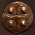 Costa rica o panama, placca pettorale a disco, 700-1550 dc ca.jpg