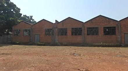 Cotton factory in Nzara, South Sudan where the first outbreak occurred Cotton Factory in Nzara, South Sudan.jpg