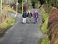 Countryside walkers, Gortinagia - geograph.org.uk - 1732185.jpg
