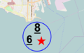 Course areas Star 6 Metre and 8 Metre 1932 Los Angeles.png