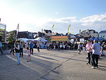 Cowes Yacht Haven during Cowes Week 2011 2.JPG