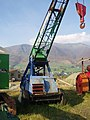 Crane at Threlkeld Mining Museum - geograph.org.uk - 714452.jpg
