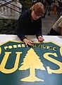 Creating U.S. Forest Service Shield (16415904865).jpg