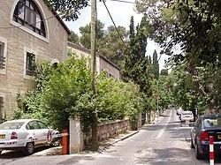 Cremieux Street, German Colony, Jerusalem.jpg