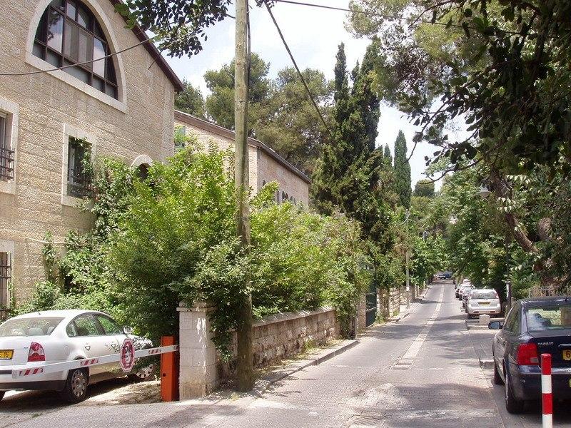 Cremieux Street, German Colony, Jerusalem