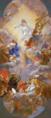 Cristo in gloria con apostoli e santi francescani - Gaulli.png