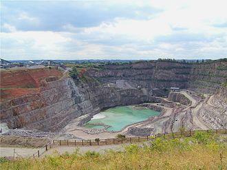 Croft, Leicestershire - Croft quarry