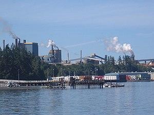Crofton, British Columbia - Crofton Mill