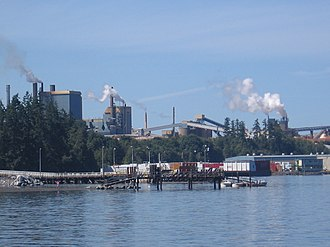 Crofton, British Columbia - Crofton Mill