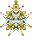 Cross of the Order of the Holy Spirit (heraldry).svg