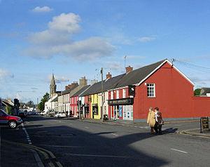 Crossgar - Image: Crossgar, Shops in Downpatrick Street