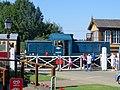 Crossing at Stibbington Station - August 2013 - panoramio.jpg