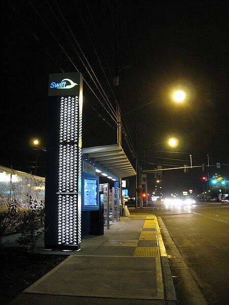 File:Crossroads Swift Station at night.jpg