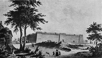 Croton Aqueduct - Croton Reservoir 1842