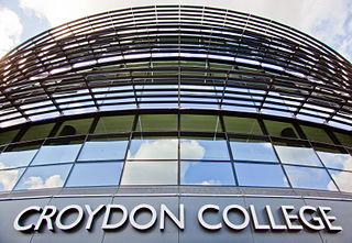 Croydon College educational institution in Croydon, London