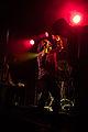 Cud live on stage, Carl dancing.jpg