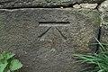 Cut Bench Mark (close-up) - geograph.org.uk - 2359163.jpg