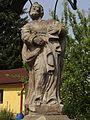 Cvikov - Martinovo Údolí - socha svatého Petra u čp. 426 (5).jpg