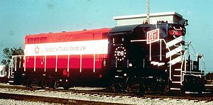 Detroit and Toledo Shore Line Railroad - Image: D&TSL76