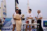 Dériveurs 18 pieds australiens au Salon Nautique International à Flot de La Rochelle 1987 (24).jpg