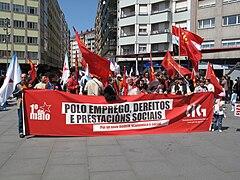 Día do traballo. Santiago de Compostela 2009 10.jpg