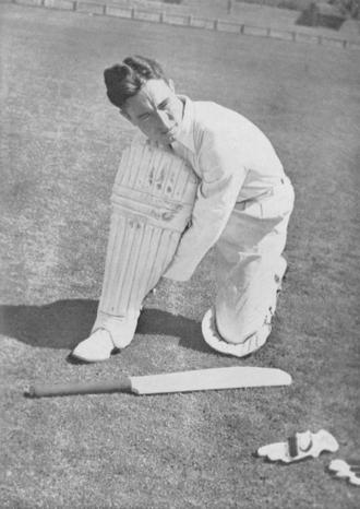 English cricket team in Australia in 1946–47 - Image: D.C.S.Compton 2