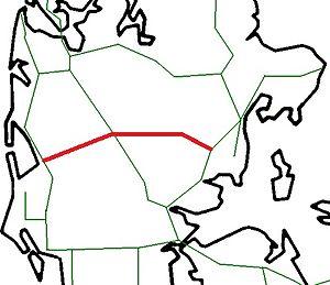 Skanderborg-Skjern Line - Image: DK 2012 Skanderborg Skjern banen