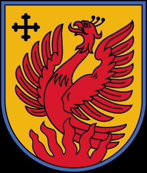Dagda Municipality - Image: Dagdas novads COA