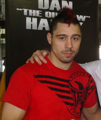 Dan Hardy - Dan Hardy at the UFC 146 Weigh-ins