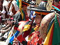 Dance of the Black Hats with Drums, Paro Tsechu 3.jpg