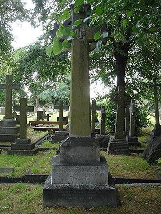 Sir Daniel Cooper, 1st Baronet - Funerary monument, Brompton Cemetery, London