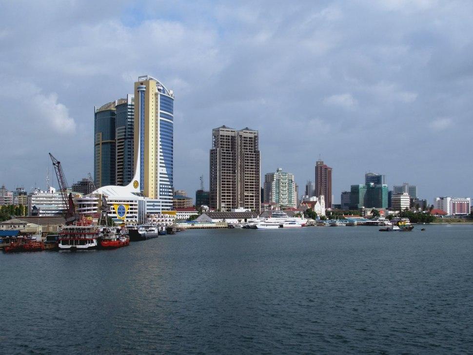 Dar Es Salaam Skyline (34011488084)