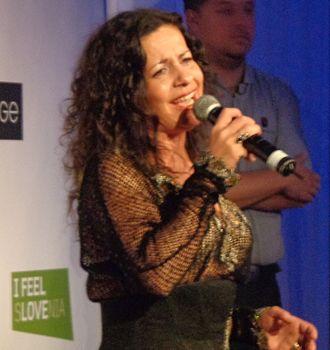 Darja Švajger - Darja Švajger in 2015.
