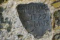 Darn o Hen Garreg Fedd - Fragment of Old Gravestone - geograph.org.uk - 575637.jpg