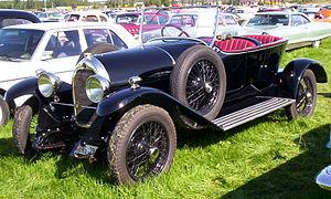 Darracq Motor Engineering Company - 1924 Darracq 12/32 Sport Cloverleaf in Sweden