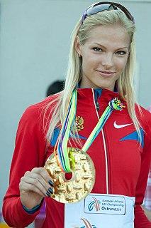 Darya Klishina Russian long jumper