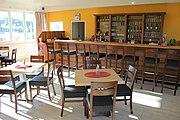 Das Clubhaus des FVL im neuen Glanz nach Umbau