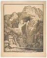 Das Schloss Prediama in Crein XII Stund- von Triest MET DP124010.jpg