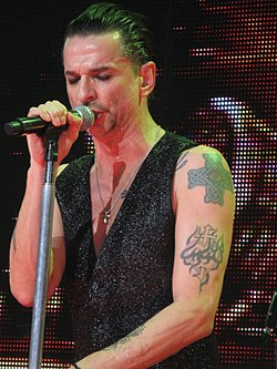 Dave Gahan in concerto nel 2010