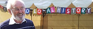 David Blomfield - David Blomfield in 2015, at the Richmond May Fair
