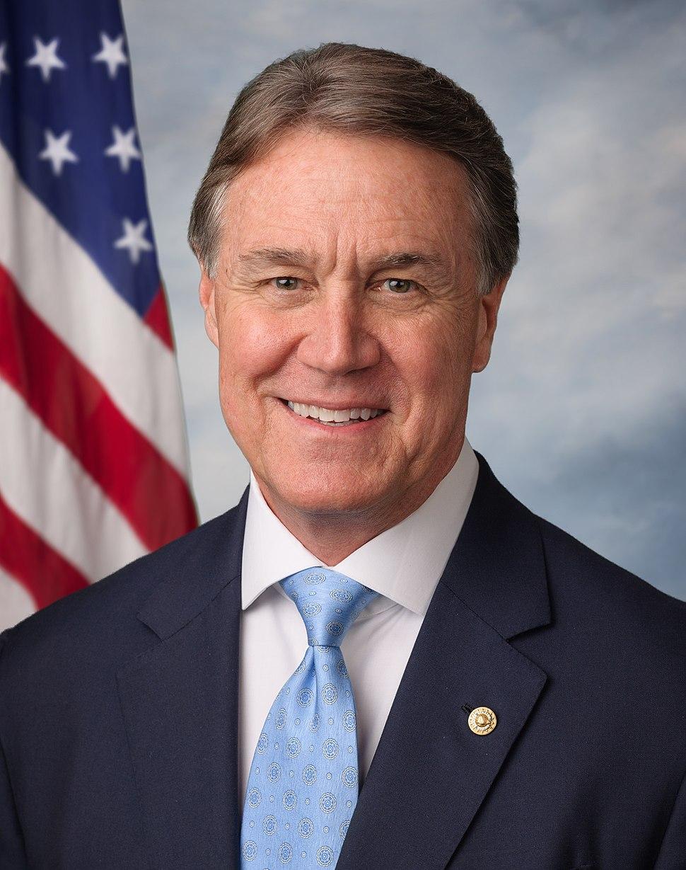 David Perdue official Senate photo