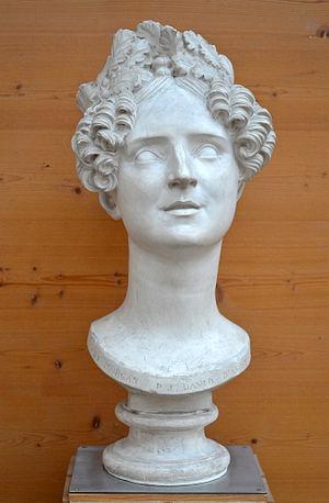 Sydney, Lady Morgan - Bust of Lady Morgan by David d'Angers